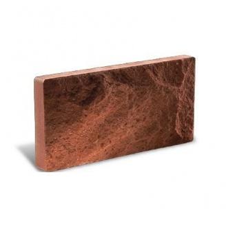 Облицовочный кирпич Литос Цокольный 250*18*100 мм красный