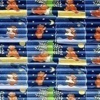 Плиссированная штора Roto ZFA 94х140 см голубая детская F-161