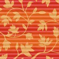 Плиссированная штора Roto ZFA 94х118 см оранжевые цветы D-143