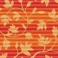 Плиссированная штора Roto ZFA 74х160 см оранжевые цветы D-143