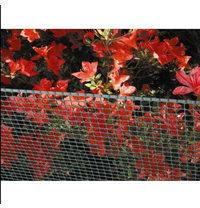 Сетка для декоративного ограждения Tenax Квадра 10x10 мм 1x50 м зеленая