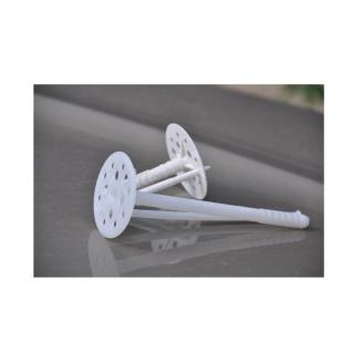 Дюбель для крепления теплоизоляции с металлическим гвоздем 2 сорт 10*140 мм