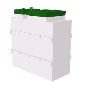 Автономная канализация ТОПОЛ-ЭКО ТОПАЭРО 4 Пр 2,05x1,7x2,6 м