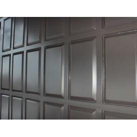 Ворота Шоколадка филенка штампованная 2x3,2 м