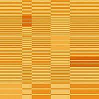 Солнцезащитная штора Roto Exclusiv ZRE 74х118 см оранжевая в полоску A-209