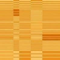Солнцезащитная штора Roto Exclusiv ZRE 65х140 см оранжевая в полоску A-209