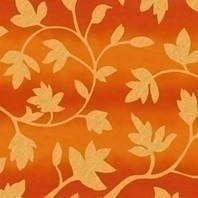 Солнцезащитная штора Roto Exclusiv ZRE 74х160 см оранжевые цветы A-206