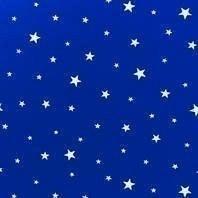 Затемняющая штора Roto ZRV 94х140 см голубые звезды D-264