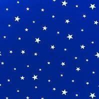 Затемняющая штора Roto ZRV 74х160 см голубые звезды D-264