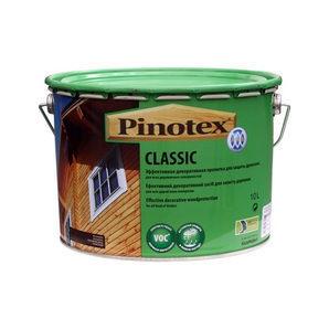 Средство для защиты древесины с декоративным эффектом Pinotex Classic 10 л