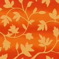 Затемняющая штора Roto ZRV 54х78 см оранжевые цветы D-263