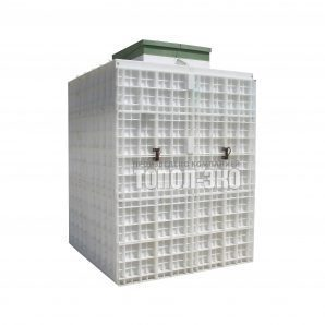 Автономная канализация ТОПОЛ-ЭКО ТОПАС 40 Пр 2,16x2,2x3,0 м