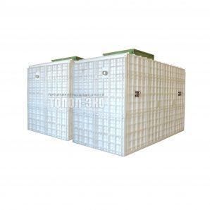 Автономная канализация ТОПОЛ-ЭКО ТОПАС 150 4,25x4,0x3,0 м