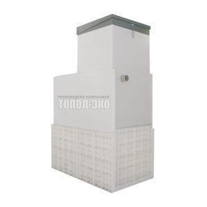 Автономная канализация ТОПОЛ-ЭКО ТОПАС 10 Long 2,1x1,2x3,1 м