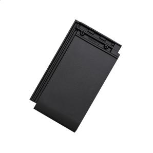 Черепица керамическая Tondach Фигаро Делюкс Австрия 424х241 мм черная