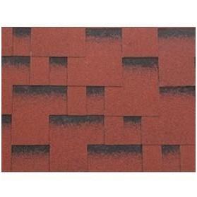 Битумная черепица IKO Skyline 1000*318 мм Tile Red Ultra