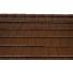 Керамическая черепица Tondach Фигаро Делюкс Австрия 424х241 мм коричневая