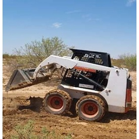 Услуги мини погрузчика Bobcat
