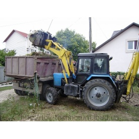 Вывоз мусора самосвалом КамАЗ 10 тонн 12 м3
