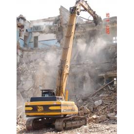 Промышленный демонтаж строений