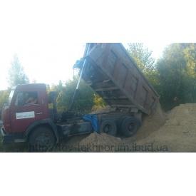 Вывоз грунта самосвалами до 30 тонн