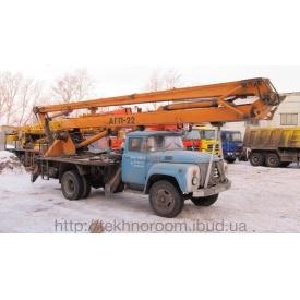 Аренда локтевой автовышки АГП-22