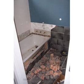Демонтаж ванной
