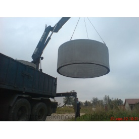 Доставка бетонних кілець