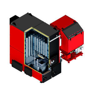Котел твердотопливный DEFRO KOMPAKT MAX 100 2422х2132х1744 мм