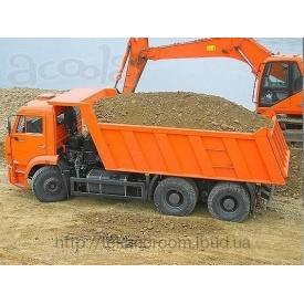 Доставка піску від 5 до 30 тонн
