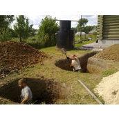 Влаштування каналізаційних колодязів