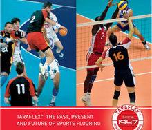 TARAFLEX™: прошлое, настоящее и будущее спортивных напольных покрытий