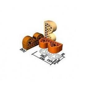 Облицовочный кирпич декоративный СБК ВФ6 250*120*65 мм светло-желтый