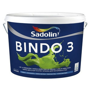 Краска для стен Sadolin Bindo 3 10 л белая