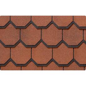 Битумная черепица CertainTeed Carriage House 460*914 мм Georgian Brick