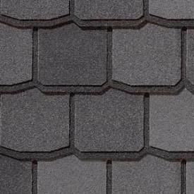 Битумная черепица CertainTeed Centennial Slate 914 мм Black Granite