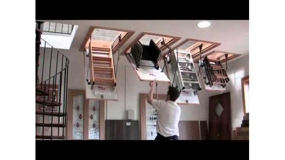 Чердачные складные лестницы OMAN
