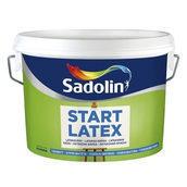 Краска для стен Sadolin Start Latex 2,5 л