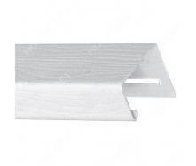 J-профиль Holzplast 3,66 м белый