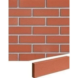 Облицовочная плитка Roben Melbourne 240*71*15 мм рифленная красная