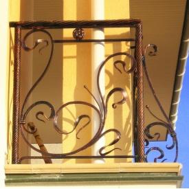 Коване перило для балкона