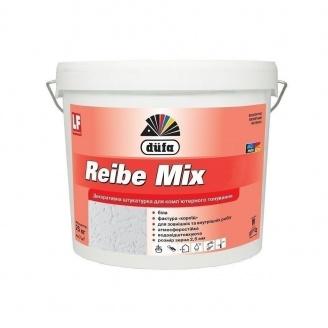 Штукатурка Dufa Reibe Mix15 25 кг белый