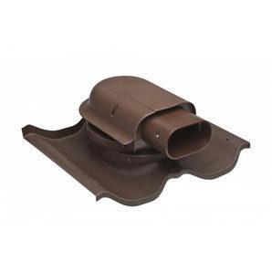 Проходной элемент VILPE SOLAR FINNERA 384х358 мм коричневый