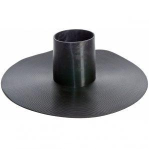 Уплотнитель парозатвора VILPE HT-125 125х30 мм черный