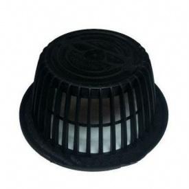 Фільтр безповітряного потоку VILPE АM 170х75 мм чорний
