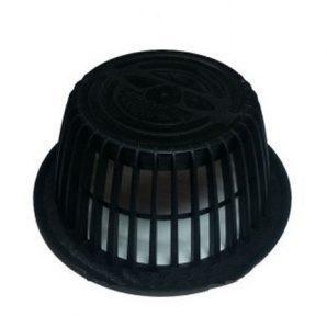 Фильтр безвоздушного потока VILPE АM 170х75 мм черный