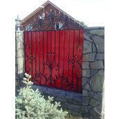Забор кованый ручной работы