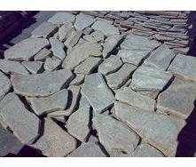 Песчаник окатанный серый