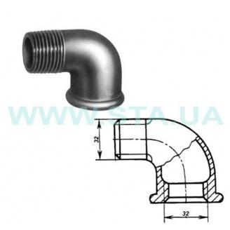 Угольник чугунный С.Т.А. В-Н 32 мм