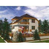 Проект каркасного двоповерхового будинку 193,9 м2